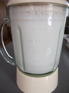 Raw White Rice and Cream(Horchata)