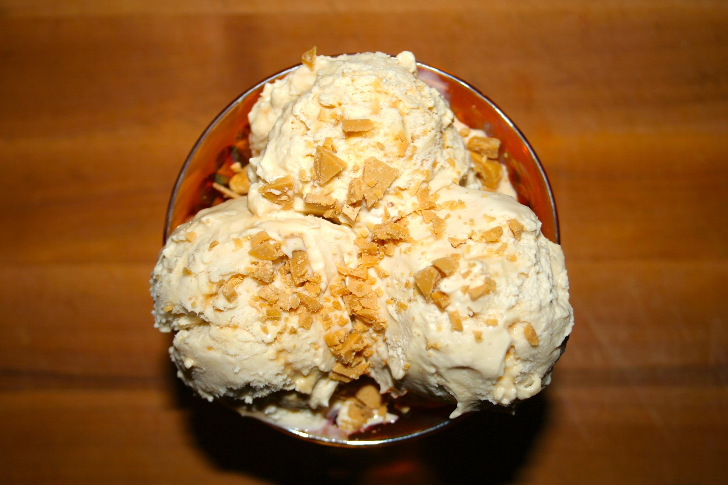 ... ice cream flavor of vanilla ice cream butter brickle ice cream butter