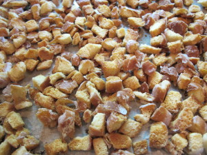 Donut Croutons - Postbake