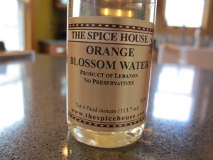 Orange Blossom Syrup