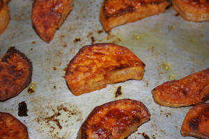 Maple Bourbon Sweet Potato
