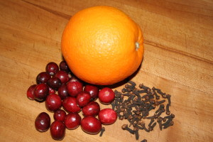Orange Cranberry Clove
