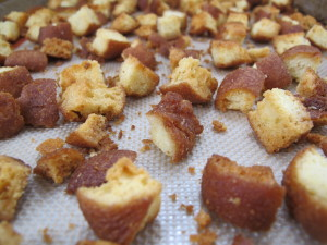 donut croutons